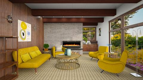 midcentury - Modern - Living room - by abby_o