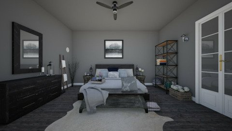 bedroom2 - Rustic - Bedroom - by Malwalker02