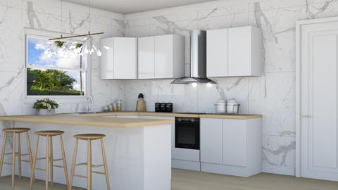Oak Kitchen - Kitchen - by lovedsign