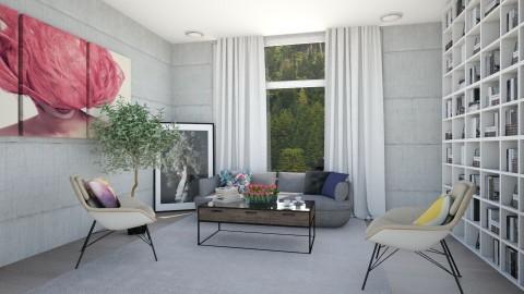 Let It Be - Modern - Living room - by Karie Claudio