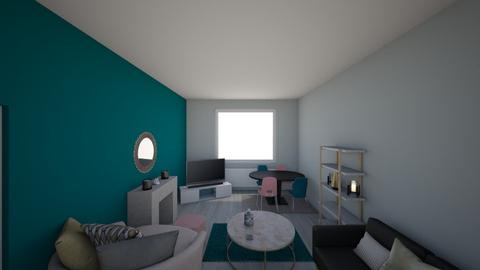 Living Room - Modern - Living room - by tessallenbeauty