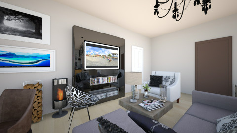 Modern living room - Modern - Living room - by veemad
