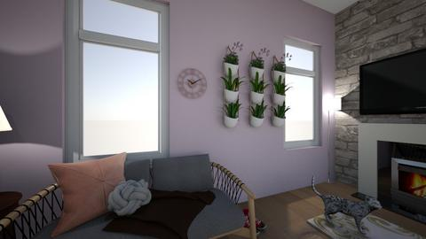 Small Living Space - Living room - by ellarowe224