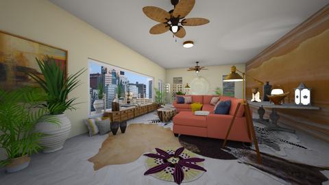 Urban Jungle Living Rm - Living room - by BillnJess