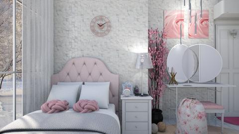 Teenage Bedroom - Bedroom - by KC Pechangco