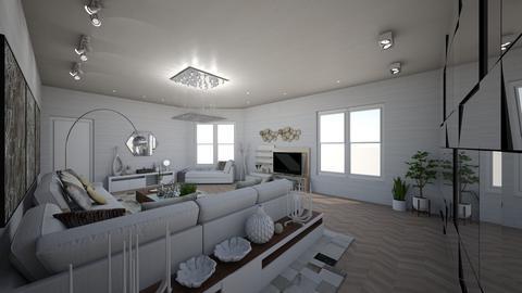Haring Oak - Modern - Living room - by danes
