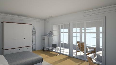mroom - Modern - Bedroom - by  Taffy