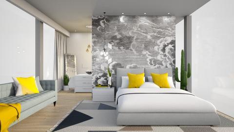 Mid Century Modern - Bedroom - by Vlad Silviu