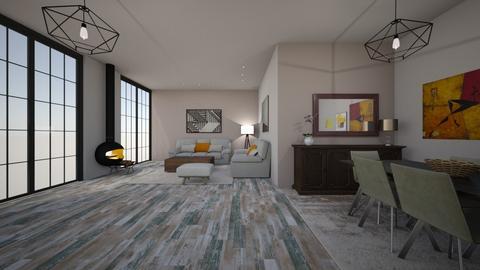 Oak interior - by voguexx