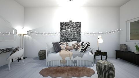 teen paris - Feminine - Bedroom - by marble101
