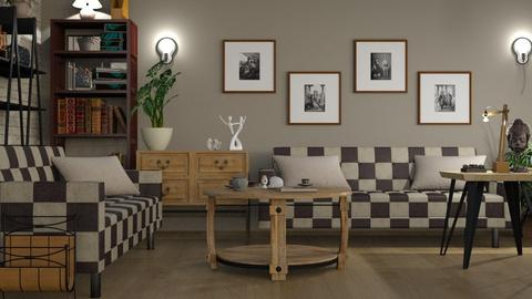 Chess Sofa - Living room - by ZuzanaDesign
