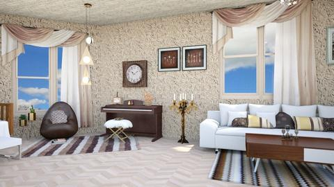 Haring Oak - Modern - Living room - by zayneb_17