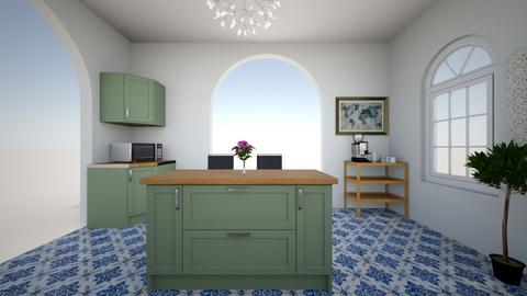 mary beths kitchen 2 - Kitchen - by mcollins6