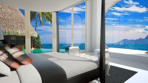 take me to Bora Bora - Modern - Bedroom - by Chelsea Avelino