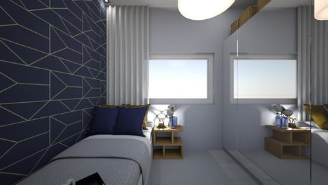 Small Room - Modern - Bedroom - by Cristiane Lichotto