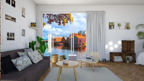 Simple - Minimal - Living room - by DaniPana