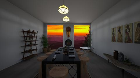 Modern African Home - Living room - by erikajhoman