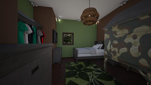 army boy room - Modern - Kids room - by jade1111