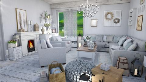 chabby chic softnes - Living room - by Moonpearl