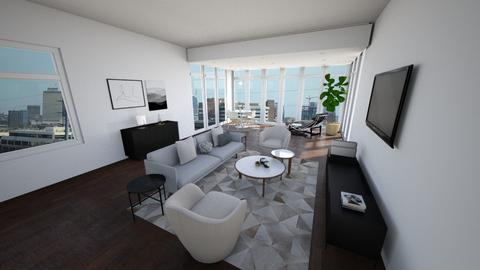 Shay 602 Living - Modern - Living room - by leighmwells