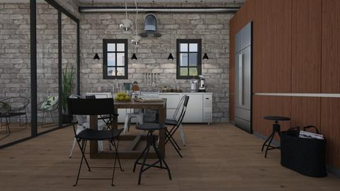 Industrial  - Kitchen - by Tuija