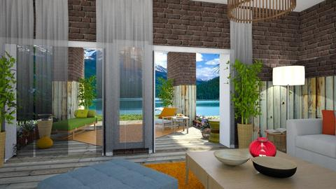 Bambu - Living room - by nanabpf
