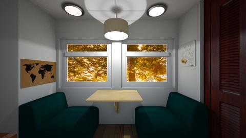 Airstream Dinette - Dining room - by SammyJPili