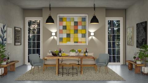 Dining Room_Scarlet_Renov - Modern - by ayu DR