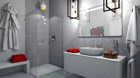 1st Bathroom - Modern - Bathroom - by Gurns