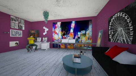 Newyork - Eclectic - Office - by Williber Cruz