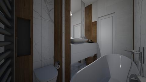bath - Bathroom - by Ana Ghita