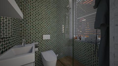 CAsa180Bathroom - Eclectic - Bathroom - by nickynunes