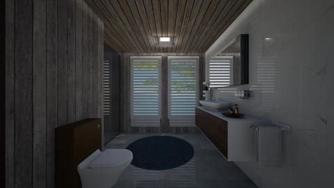 Small bedroom - Modern - Bathroom - by orandorango