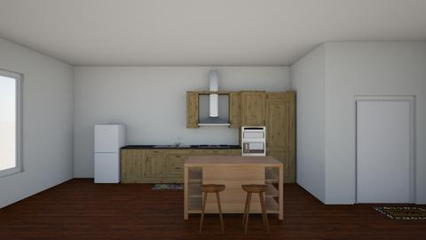 IP Artisan Kitchen - Kitchen - by SunshineAllie