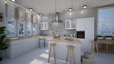 First - Kitchen - by Senlisa