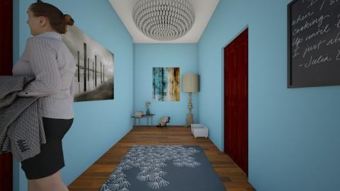 Hallway - by SydneyCupcake
