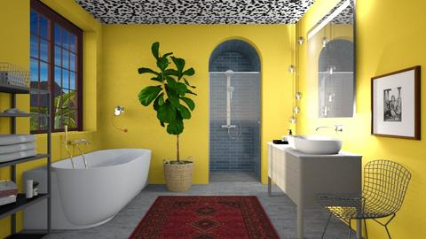 Yellow Splash Room - Modern - Bathroom - by 3rdfloor