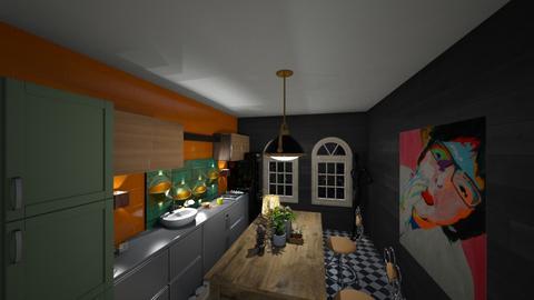 Kitchen - Kitchen - by Fannia_