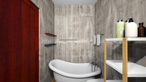 bath2 - Classic - Bathroom - by elawitkowska