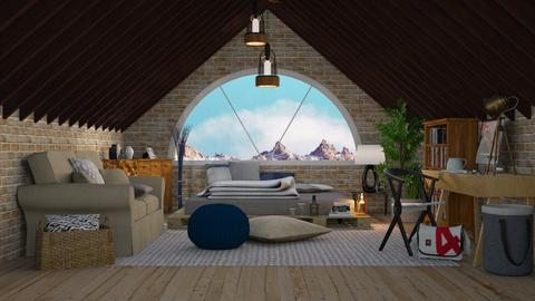 Attic  - Bedroom - by Just Bee