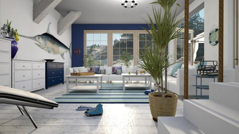 Nautical living room - Living room - by ZuzanaDesign