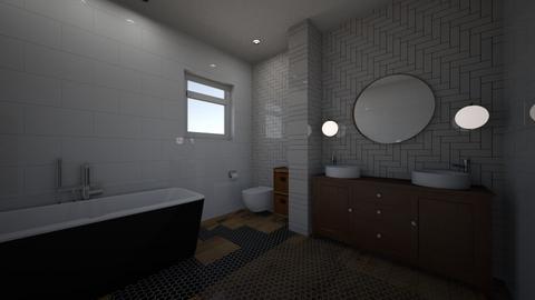 sky - Bathroom - by Zhannat