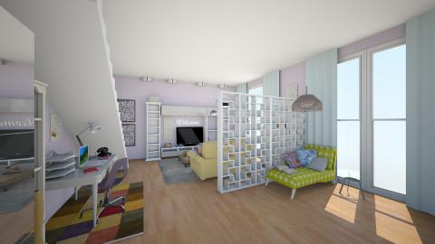 kuchnia salon luczek 5 - Living room - by AleksaM