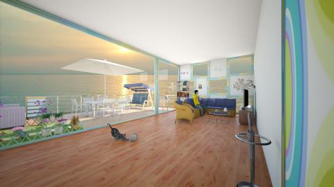 salotto con veranda panoramica - Modern - by fiocchetta