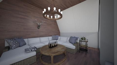 Cabin Vibin' - Rustic - by tcooney