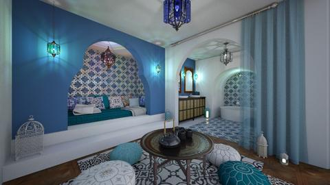 Moroccan house - by Laurika