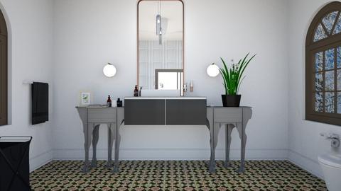 simple decoration - Modern - Bathroom - by zayneb_17