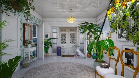 a jungle in the hall - Eclectic - by Ida Dzanovic