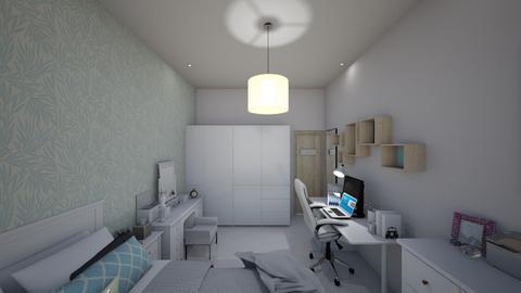 Vivians bedroom 4 - Modern - Bedroom - by Vivianhsuan