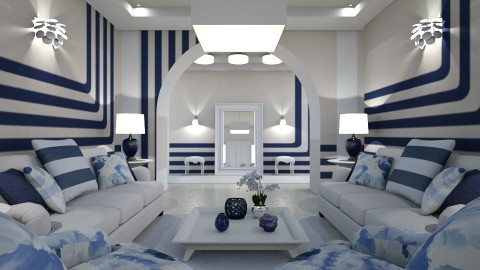 Striped Interior1 - by ritsa